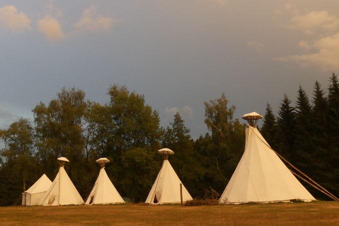 Abendstimung auf dem Lagerplatz - Foto: NAJU BW / M. Rodio