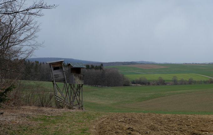AK III Wildtierkorridoruntersuchung - Hochsitzduo - Foto: R. Häßler