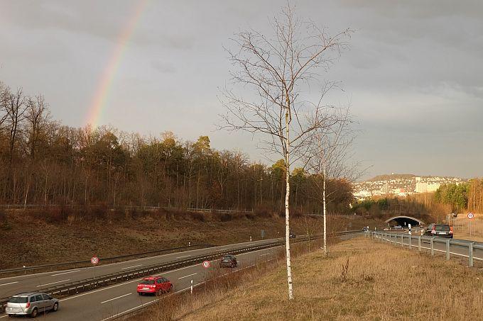 Grünbrücke B 295 bei Leonberg - Foto I. Häuser