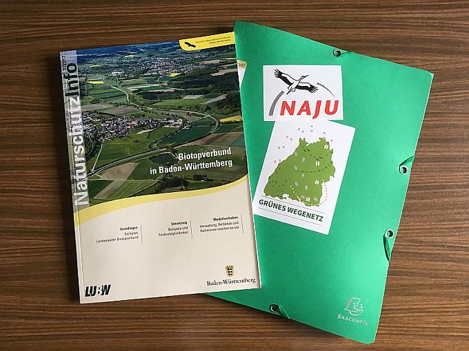 Veröffentlichungen im Grünen Wegenetz - Foto: NAJU BW