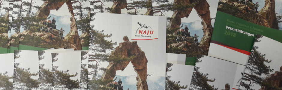 NAJU Veranstaltungsprogramm 2018 - Foto: NAJU BW