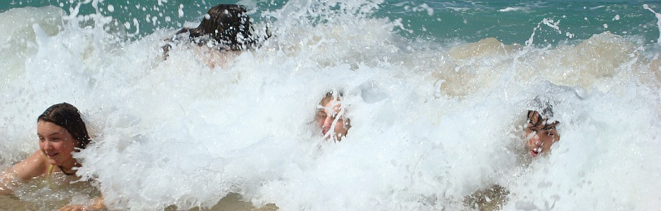 Korsikafreizeit Baden im Meer - Foto: NAJU BW