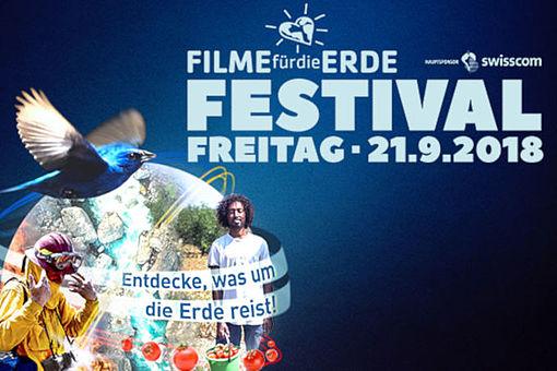 Filme fuer die Erde Festival 2018 - Grafik: Filme für die Erde Festival