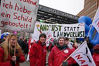 NAJU-Mitglieder auf der Demo - Foto: NAJU Bundesverband
